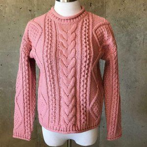 Madewell $115 Cable knit Pullover Sweater H3431